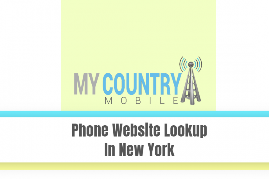 Phone Website Lookup In New York - My Country Mobile